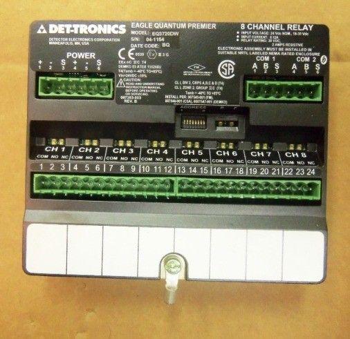 DET-TRONICS EQ3720DW 8-канальный EDIO модуль