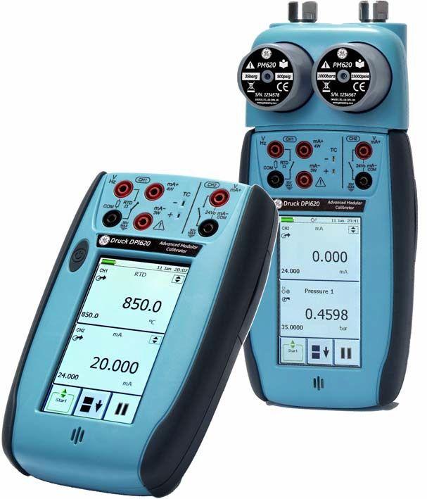 Модульная калибровочная система Druck DPI 620