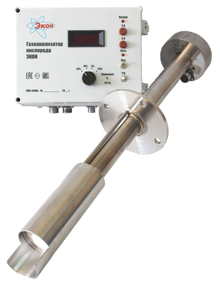 Газоанализатор кислорода твердоэлектролитный ЭКОН ЭМ