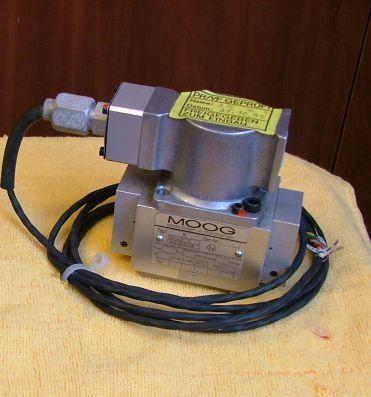 Сервоклапаны MOOG серии D771, D772